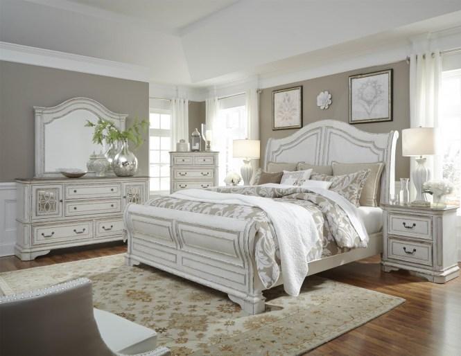 Liberty Furniture Magnolia Manor 6 Piece Bedroom Group