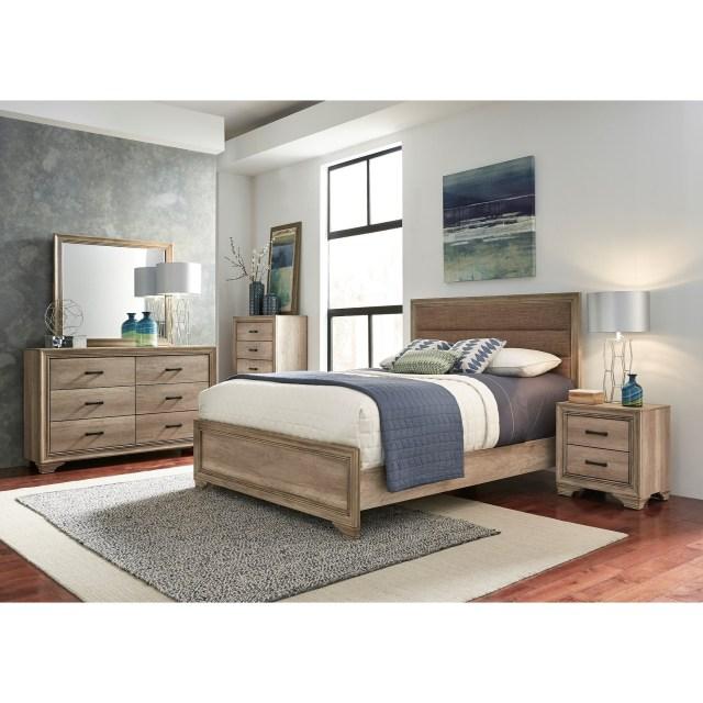 Liberty Furniture Sun Valley 439 Queen Bedroom Group Wayside