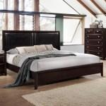 Lifestyle Jessgal Queen Platform Bed With Upholstered Headboard Royal Furniture Platform Beds Low Profile Beds