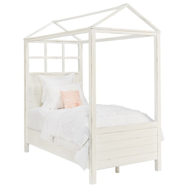 Magnolia Home by Joanna Gaines Boho Playhouse Twin Canopy Bed     Magnolia Home by Joanna Gaines Boho Twin Canopy Bed   Item Number   5070465DW 5070469DW