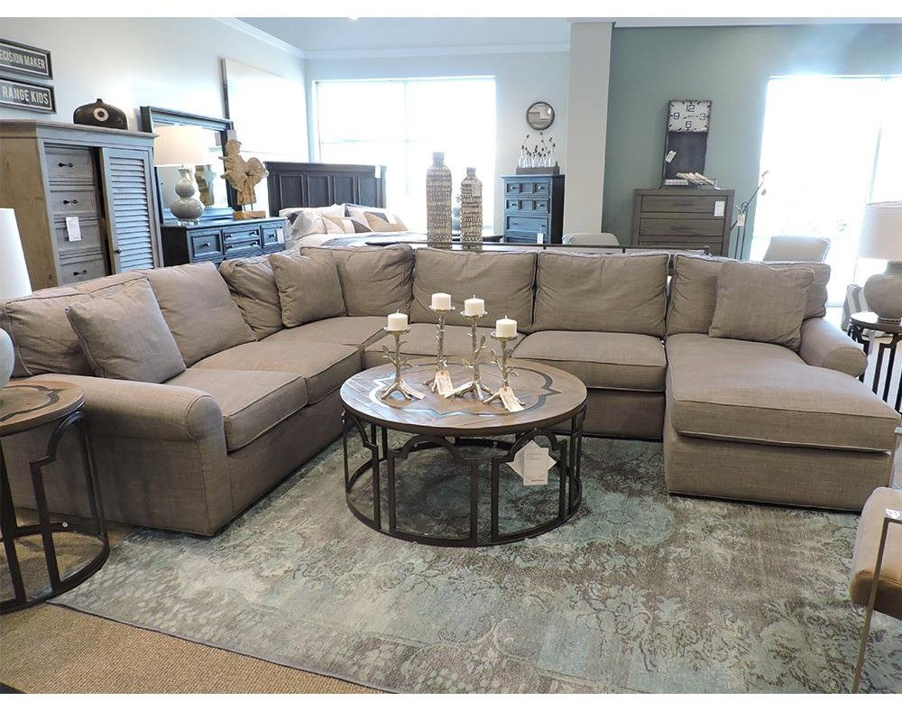 harris sectional sofa with right arm facing chaise