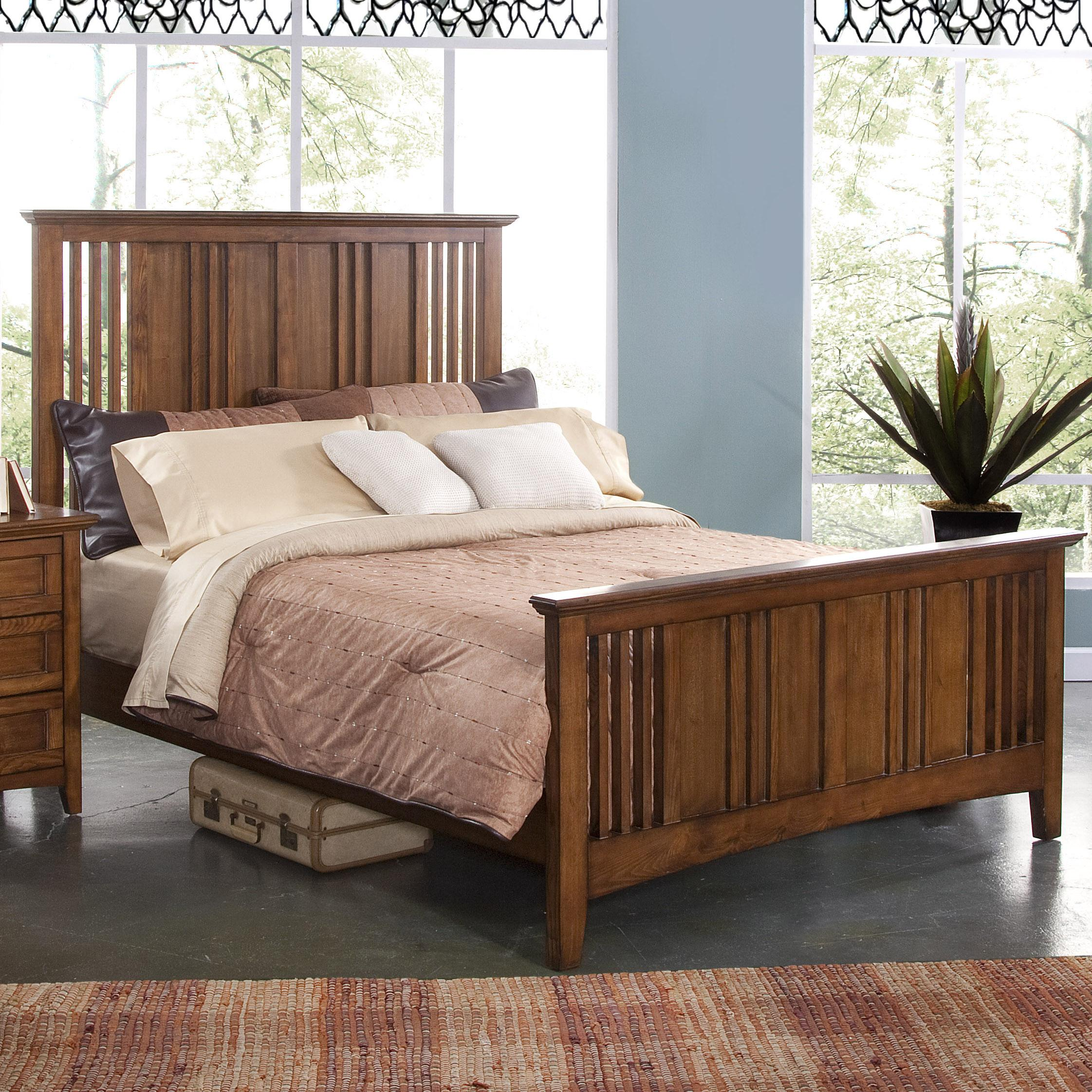 New Classic Logan California King Size Panel Bed With