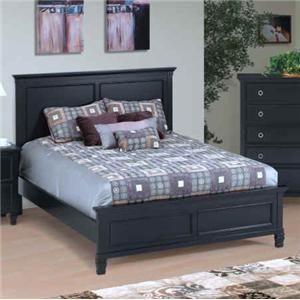 New Classic Tamarack Queen Panel Bed