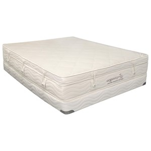 Organic Mattresses Inc Omi Pinnacle Queen Extra Plush Pillow Top Set