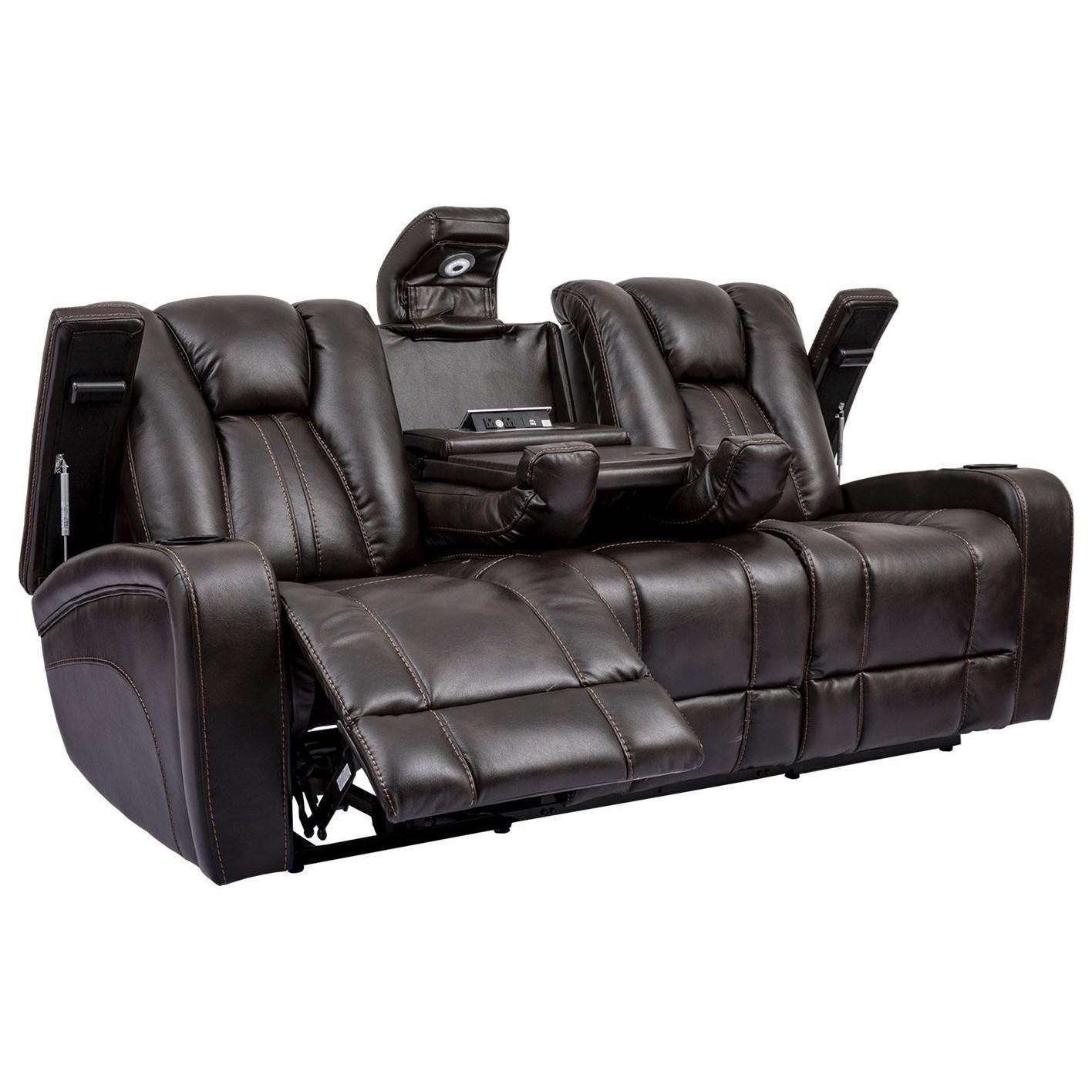 optimus power reclining sofa