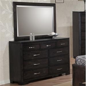 Dublin King Panel Wood Bed W Storage Walkers Furniture Headboard Amp Footboard Spokane