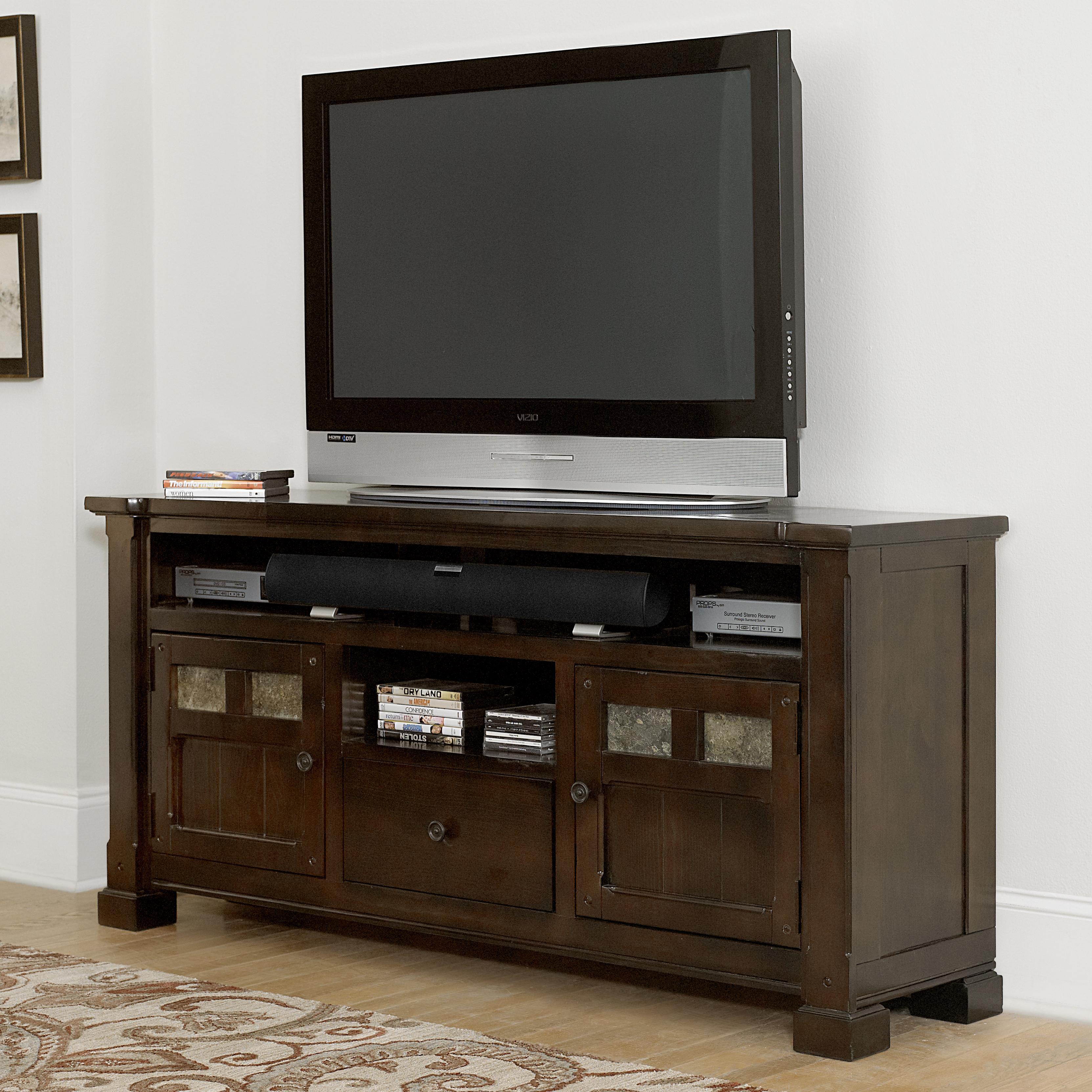 Progressive Furniture Telluride 64 Console With Slate