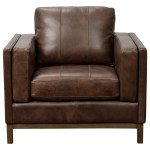 Pulaski Furniture Drake Contemporary Leather Accent Chair Godby Home Furnishings Upholstered Chairs