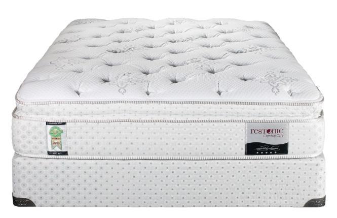 Restonic Comfortcare Queen Bristol Super Pillow Top Mattress