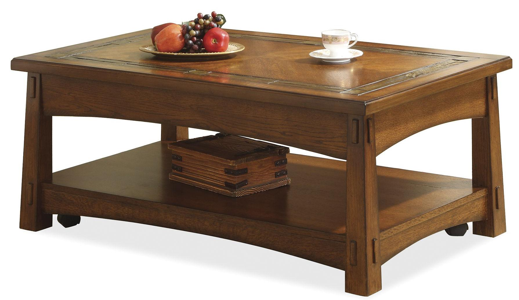 craftsman home lift top coffee table