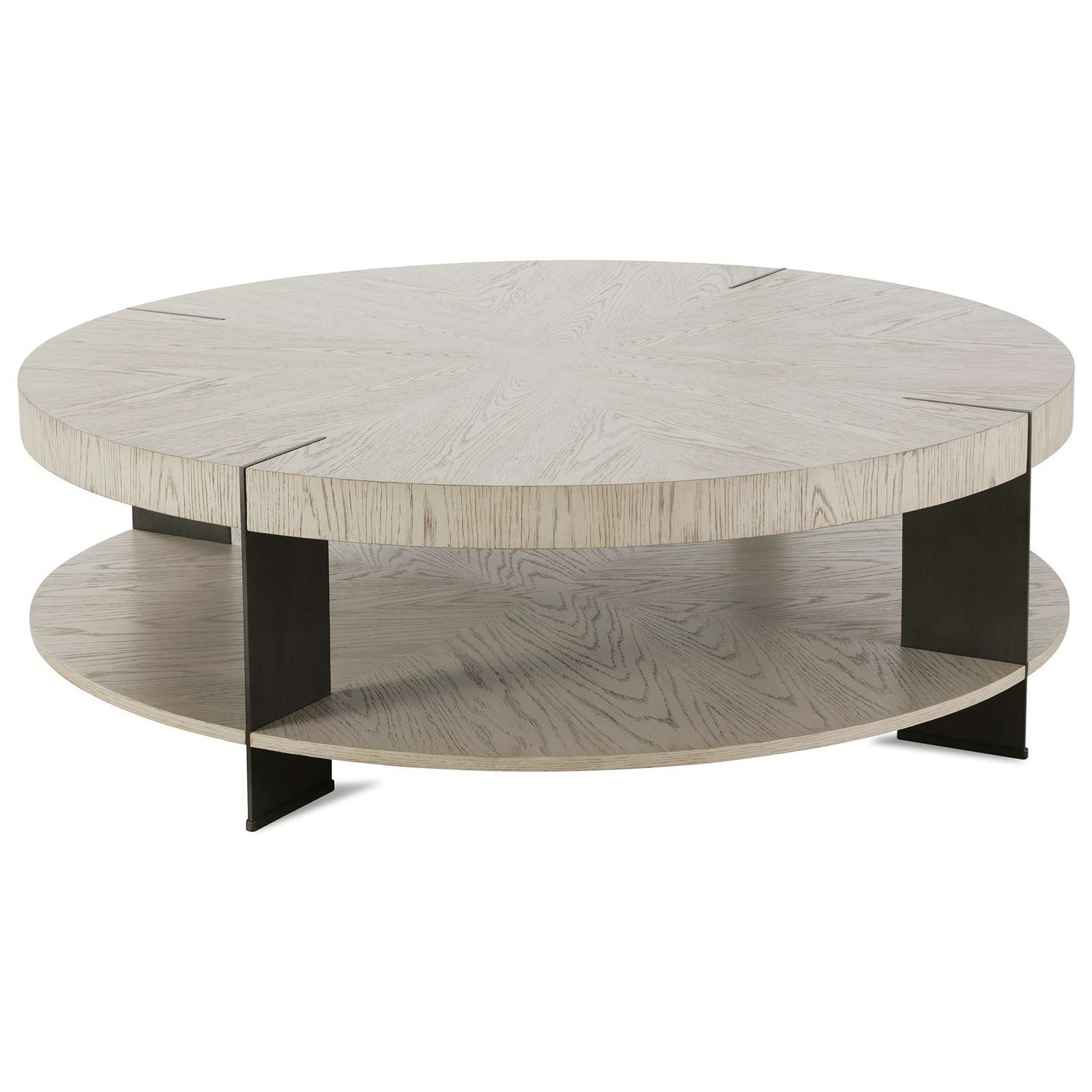 rowe halo modern cocktail table with
