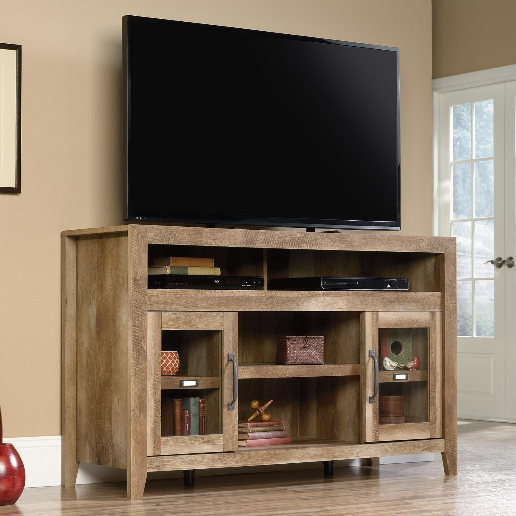 Sauder Dakota Pass 419119 Rustic Finish Entertainment