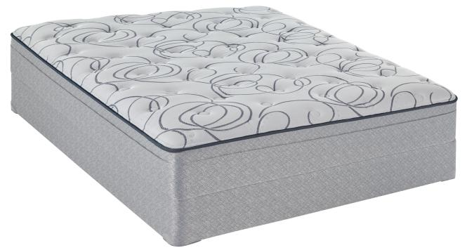 Sealy Watsonia Queen Plush Et Mattress Set Item Number Plushet Q