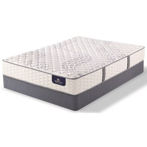 Serta Ps Deermore Firm Queen Pocketed Coil Mattress Set