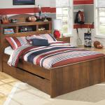 Signature Design By Ashley Barchan Full Bookcase Bed With Trundle Under Bed Storage Unit Furniture Mart Colorado Bookcase Beds