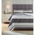 Signature Design By Ashley Bedding Sets Queen Masako Black Cream Comforter Set Royal Furniture Bedding Sets