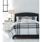 Signature Design By Ashley Bedding Sets 6445 King Stayner Black Gray Comforter Set Catalog Outlet Bedding Sets