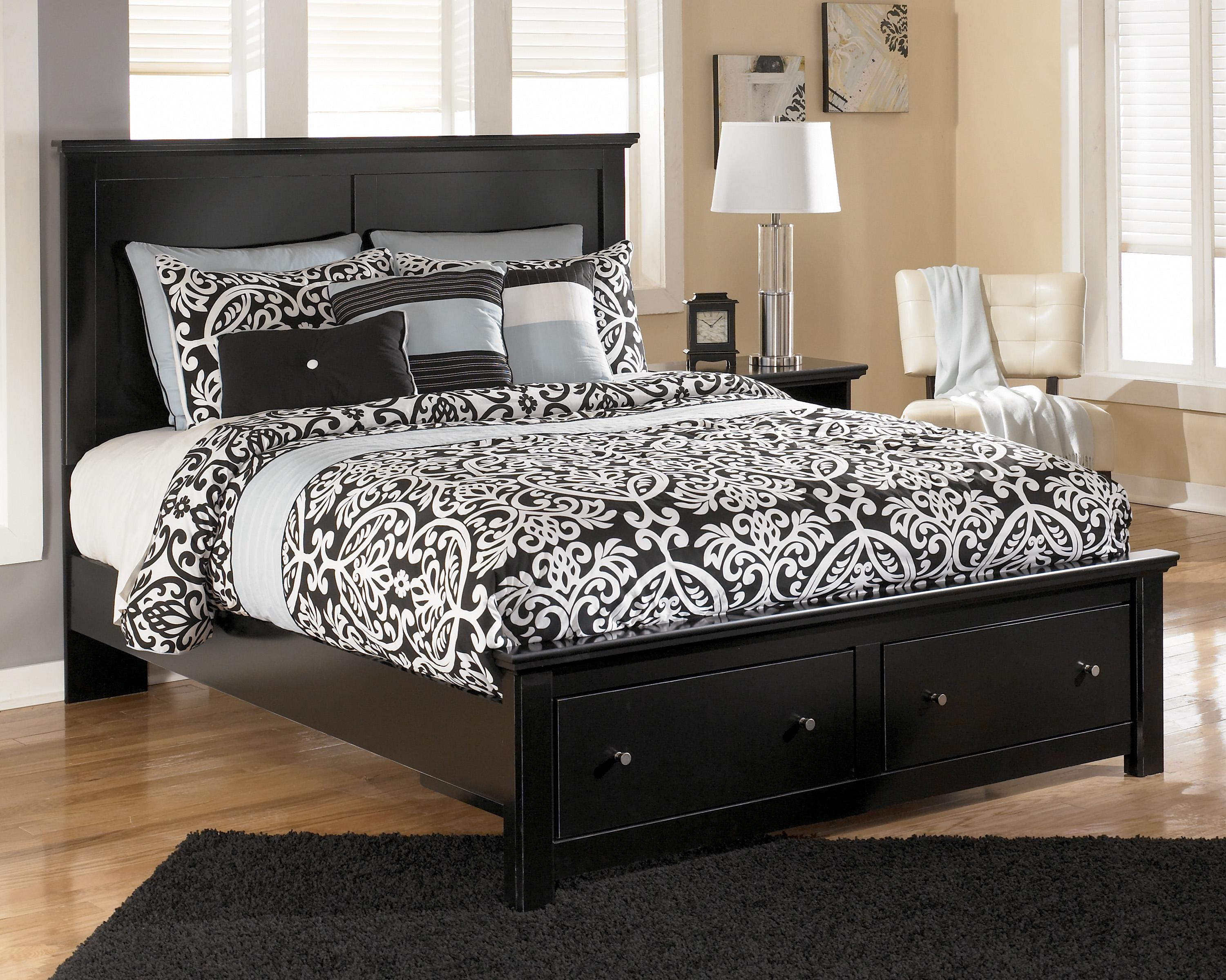 Signature Design By Ashley Maribel Queen Storage Bed With