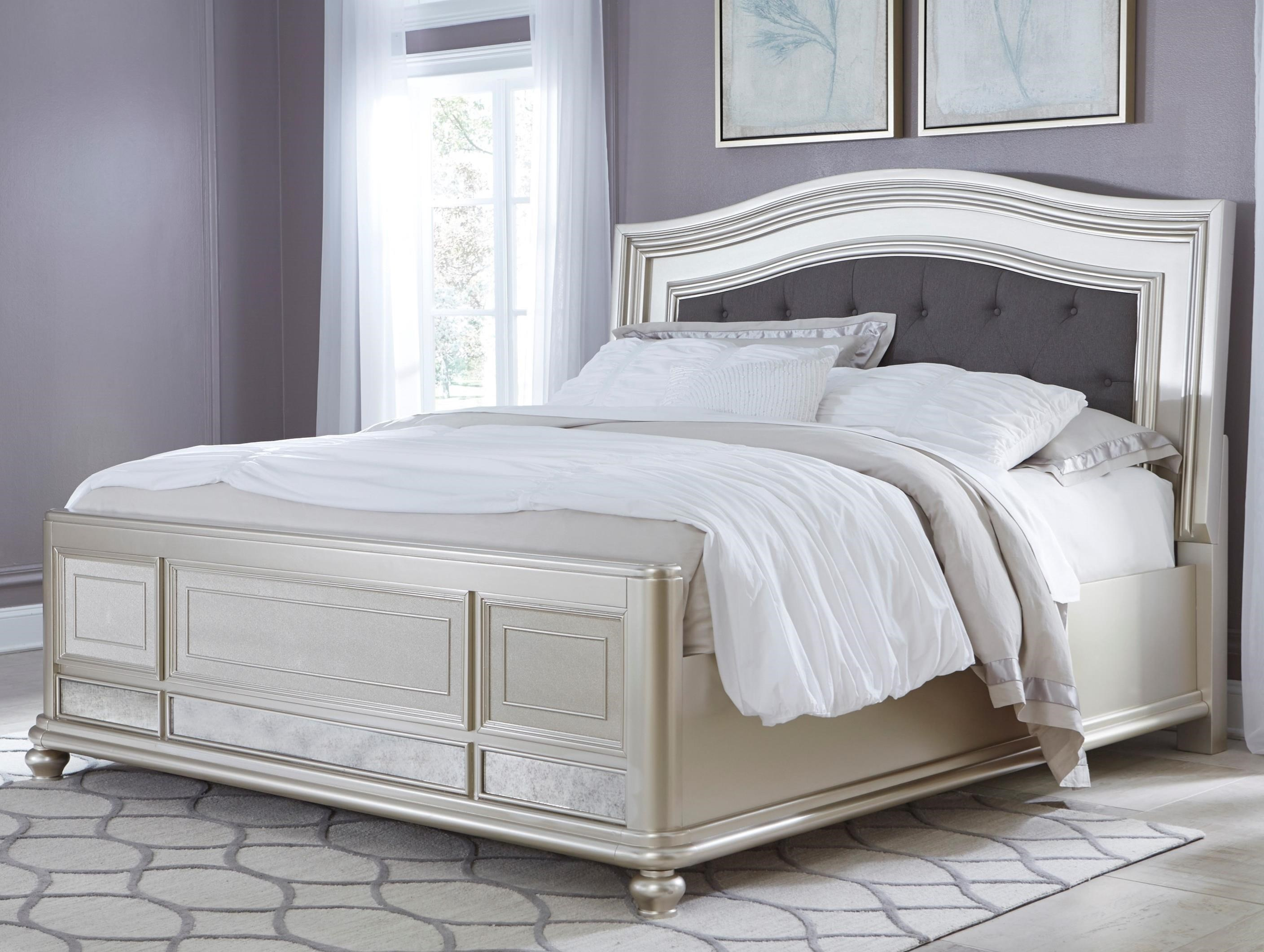 Signature Design By Ashley Coralayne King Panel Bed With