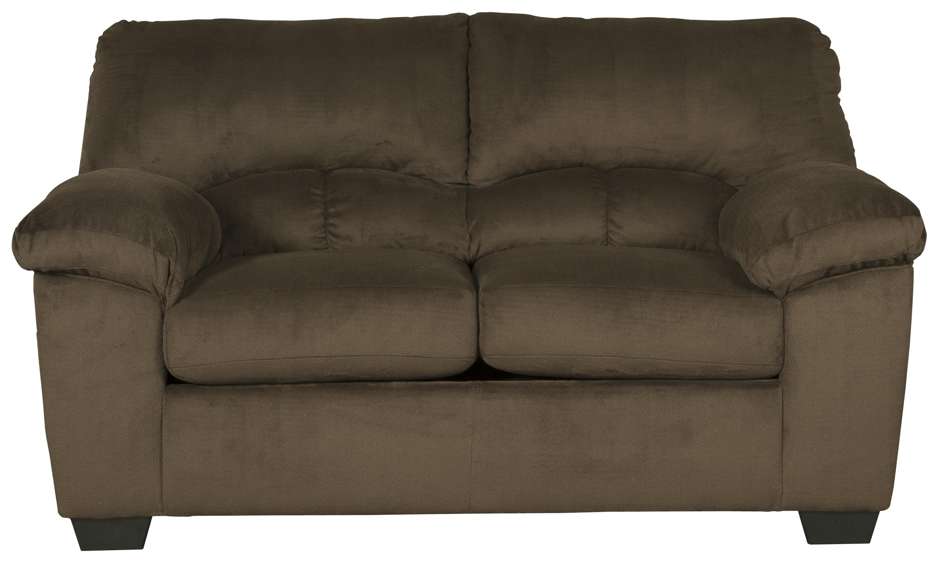 Signature Design By Ashley Dailey Casual Contemporary Loveseat Boulevard Home Furnishings