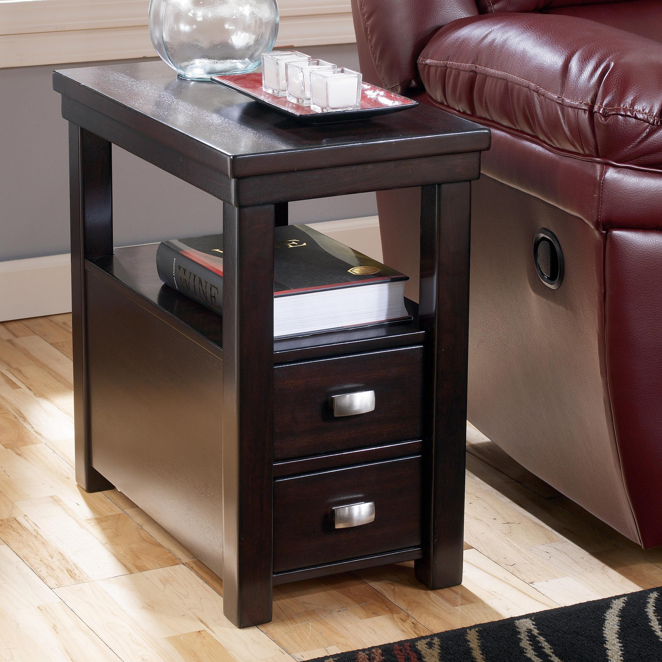 Signature Design By Ashley Hatsuko Chairside End Table