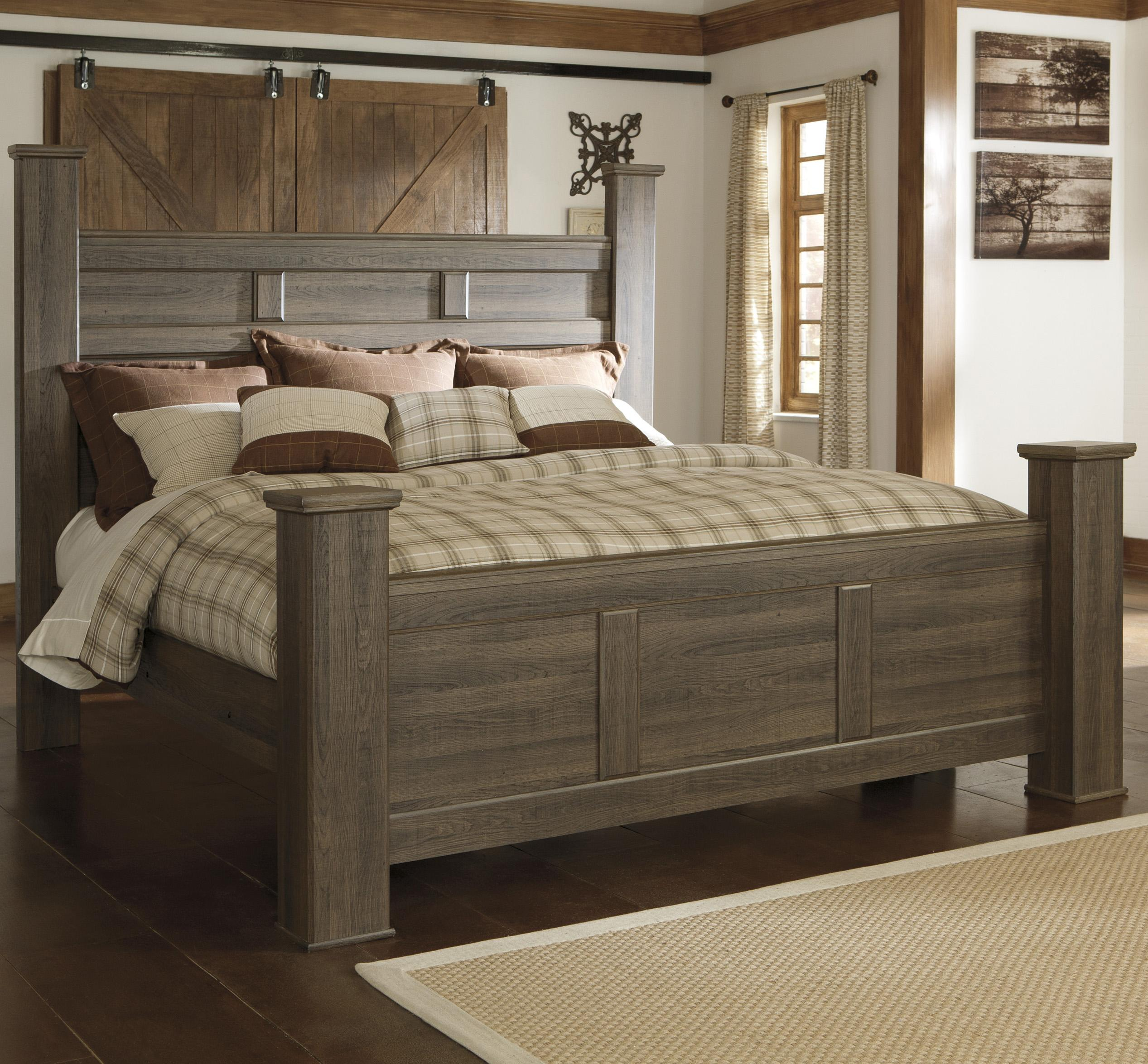 juararo california king poster bed