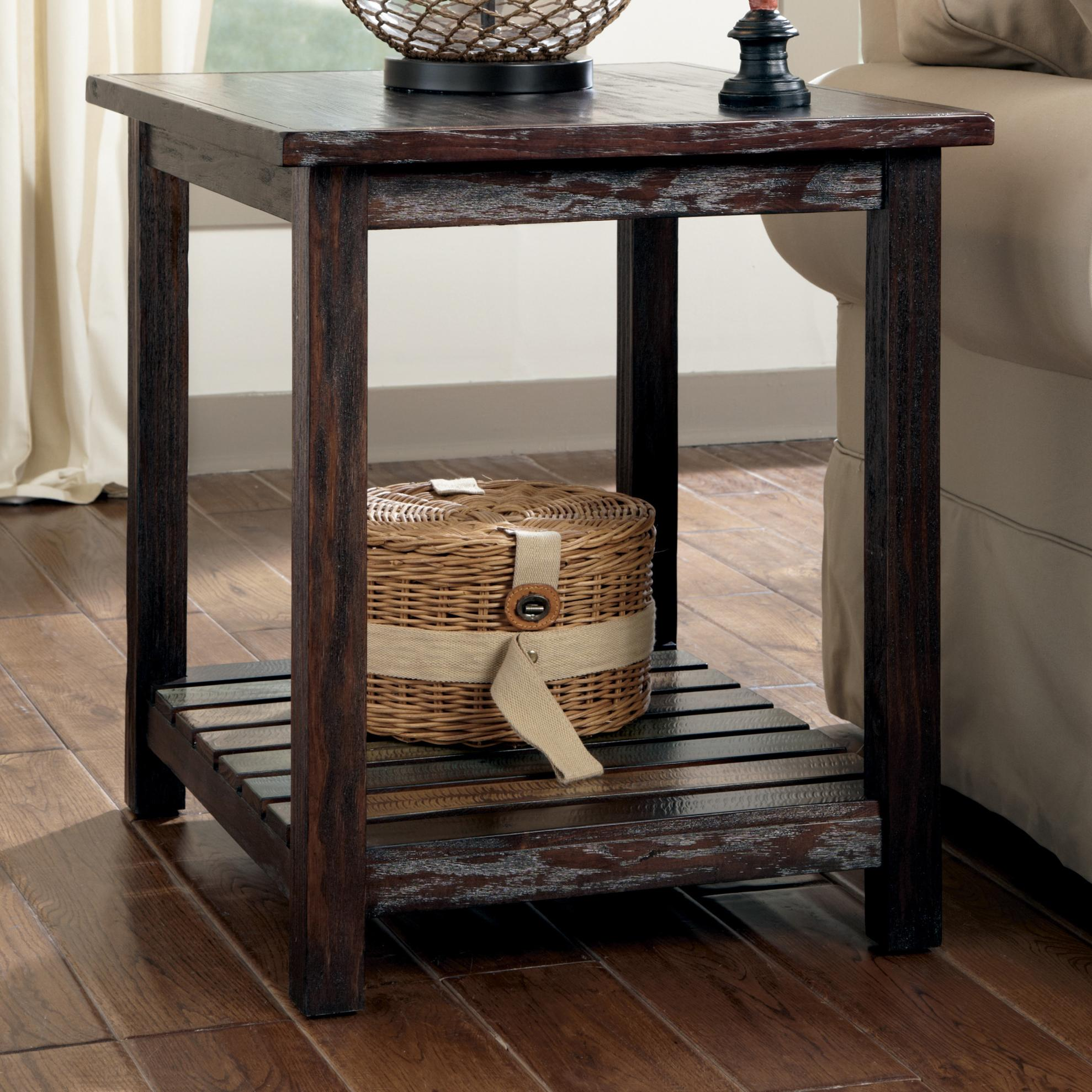 Signature Design By Ashley Mestler Rectangular End Table