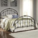 Signature Design By Ashley Nashburg King Arched Metal Bed In Bronze Color Finish Houston S Yuma Furniture Panel Beds