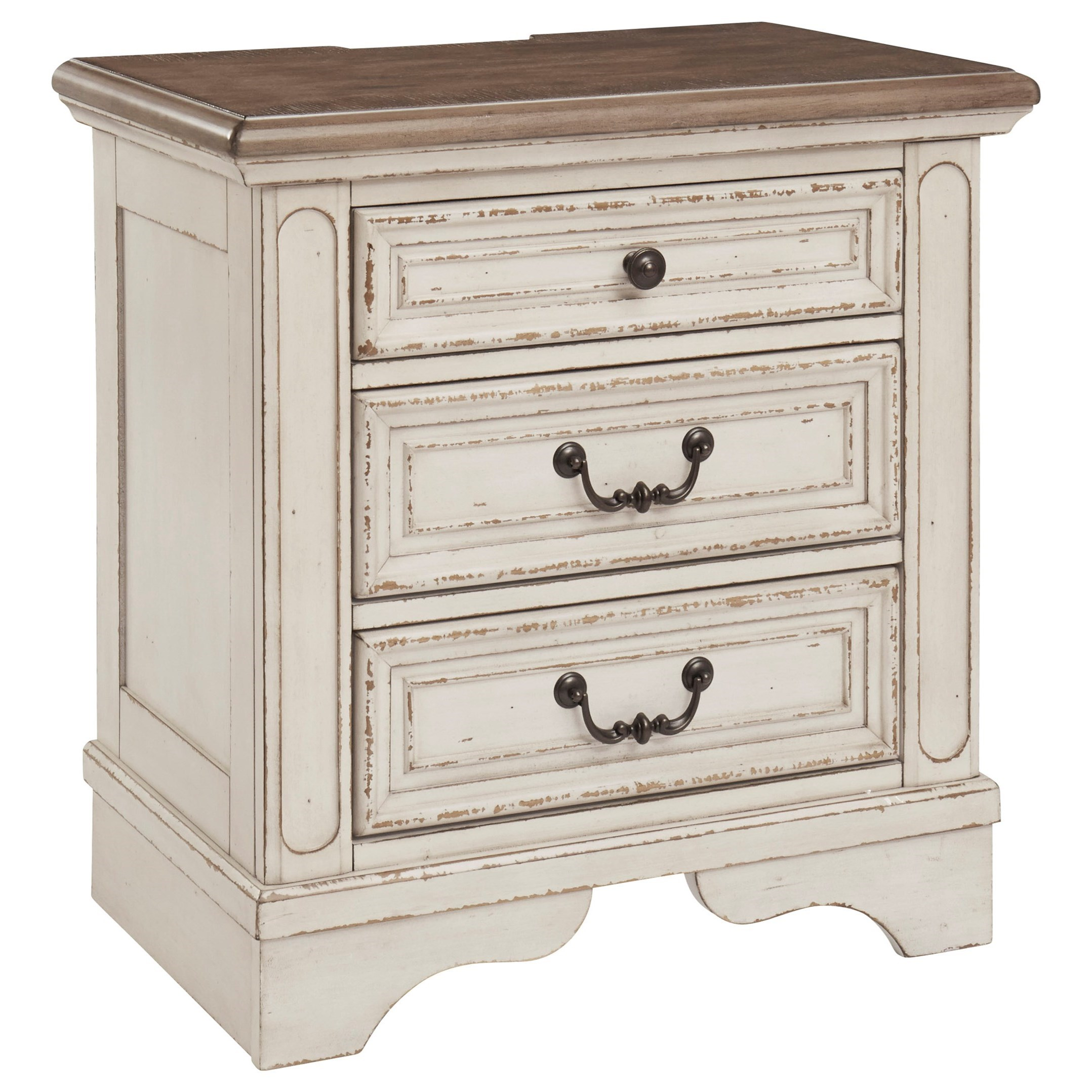 Signature Design By Ashley Realyn B743 93 Three Drawer