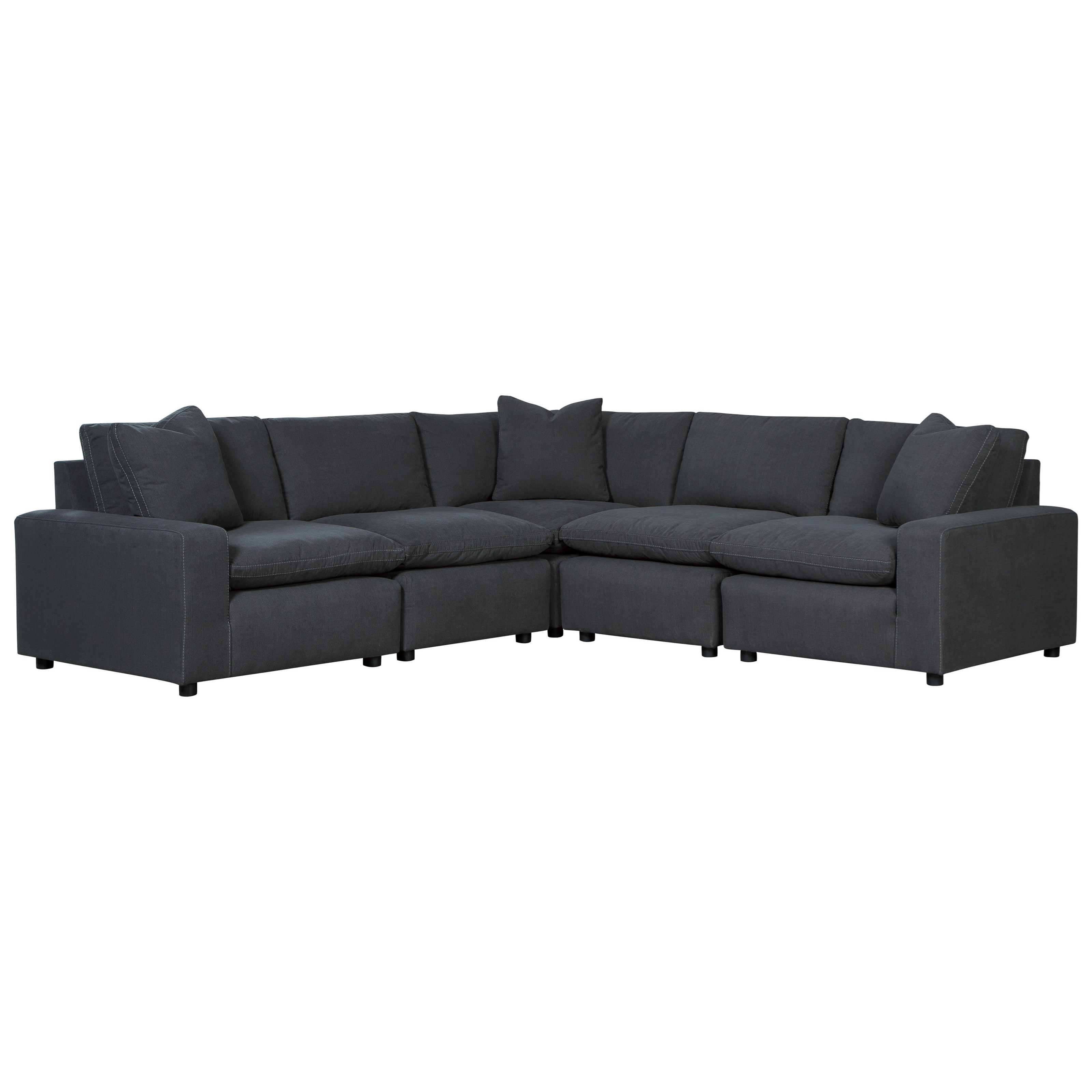 shay 5 piece sectional