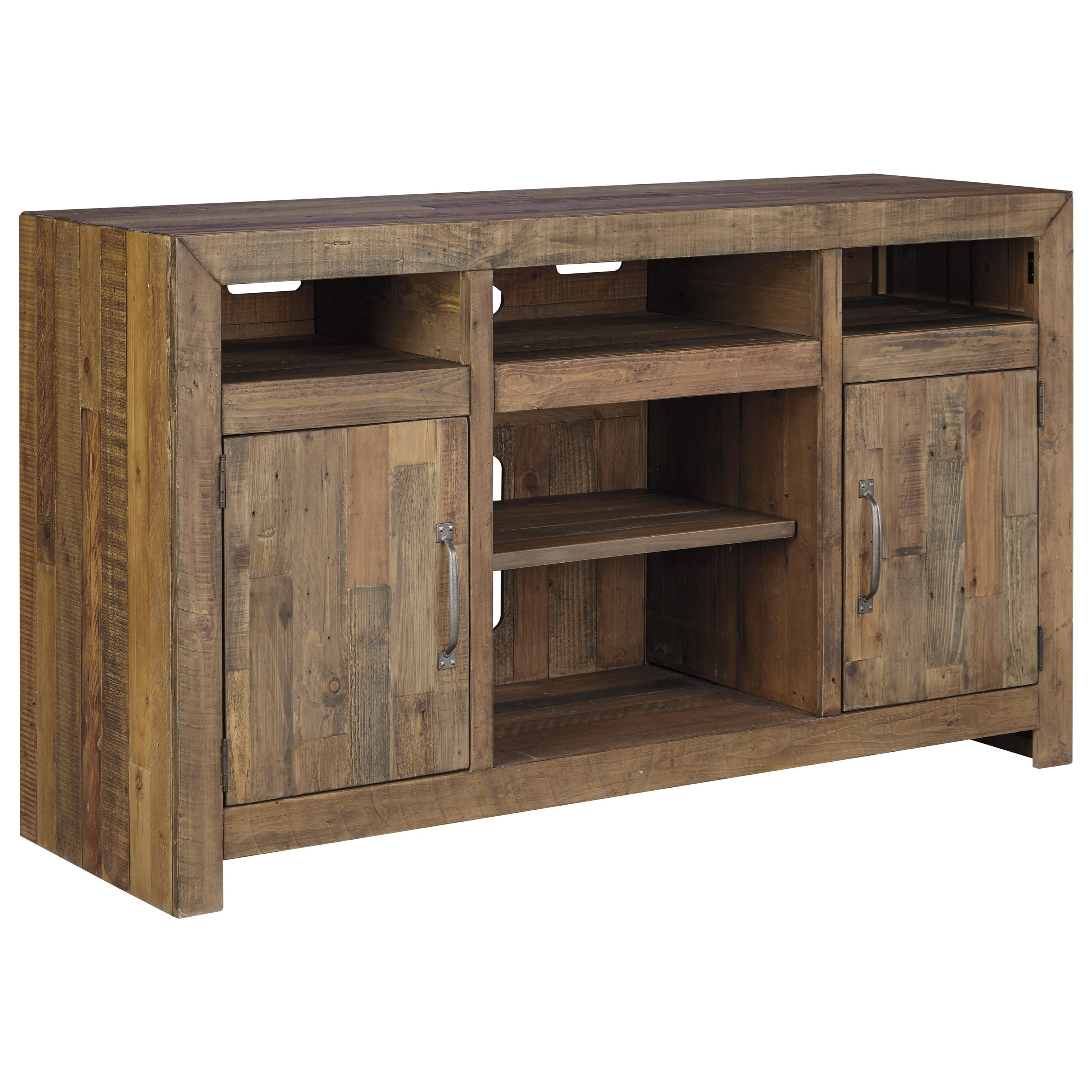 Signature Design By Ashley Sommerford Reclaimed Pine Solid