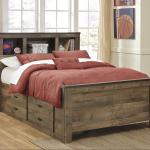 Trinell Full Bookcase Bed With Under Bed Storage