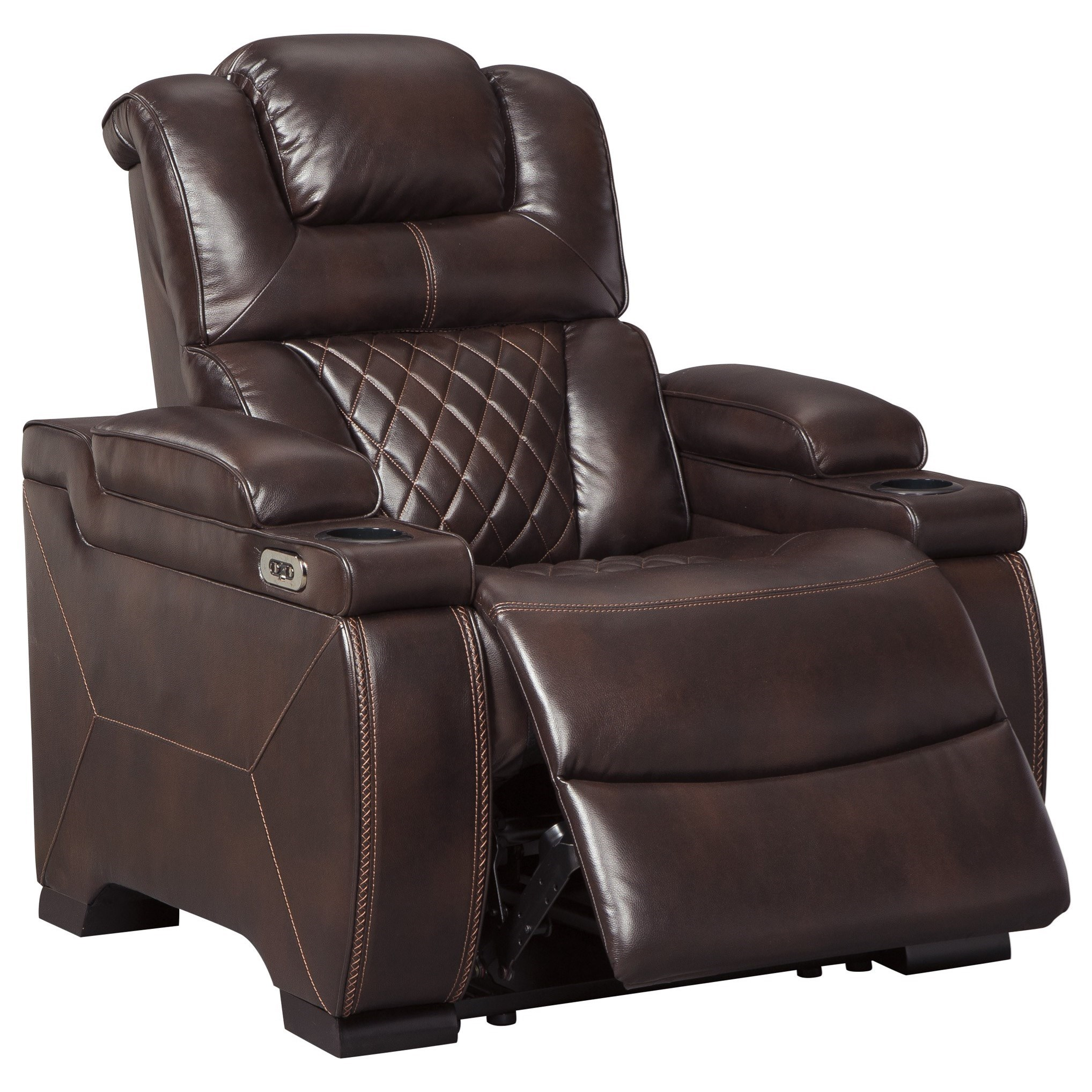 Signature Design By Ashley Warnerton Power Recliner With