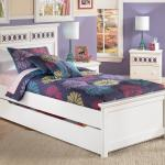 Signature Design Zayley Twin Platform Bed With Trundle Storage Box Customizable Color Panels Fisher Home Furnishings Platform Beds Low Profile Beds