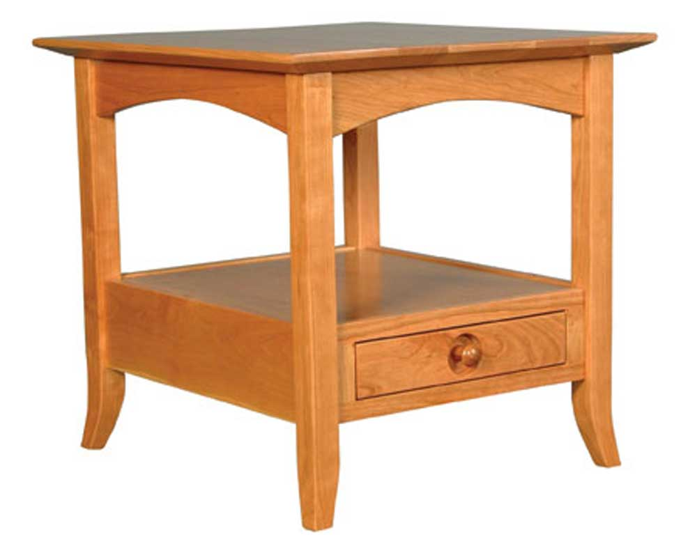 Simply Amish Shaker Amish Shaker Hill End Table