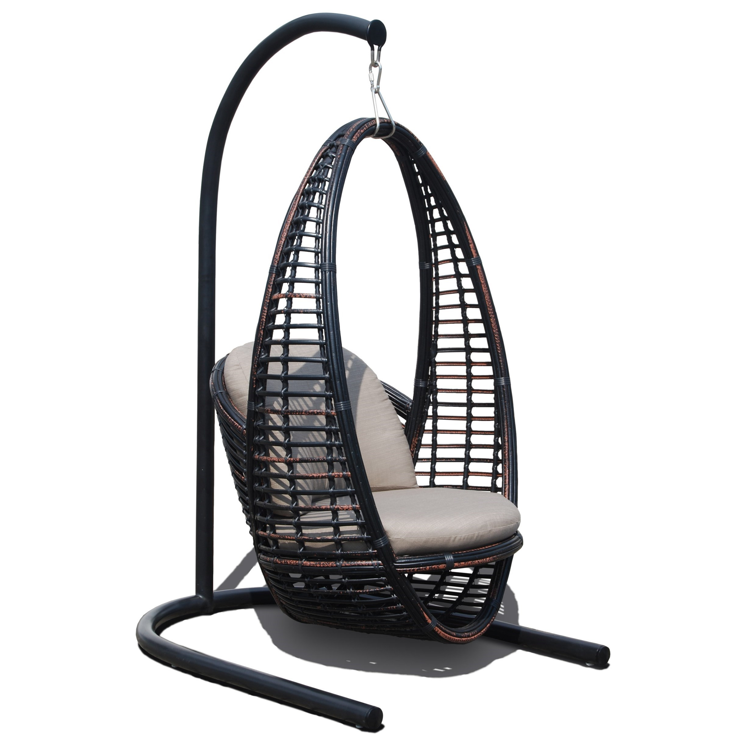 Skyline Design Heri Outdoor Hanging Chair With Cushion