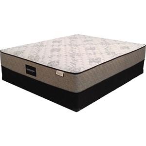 Sleep Designs Edison Firm Queen Pocketed Coil Mattress Set