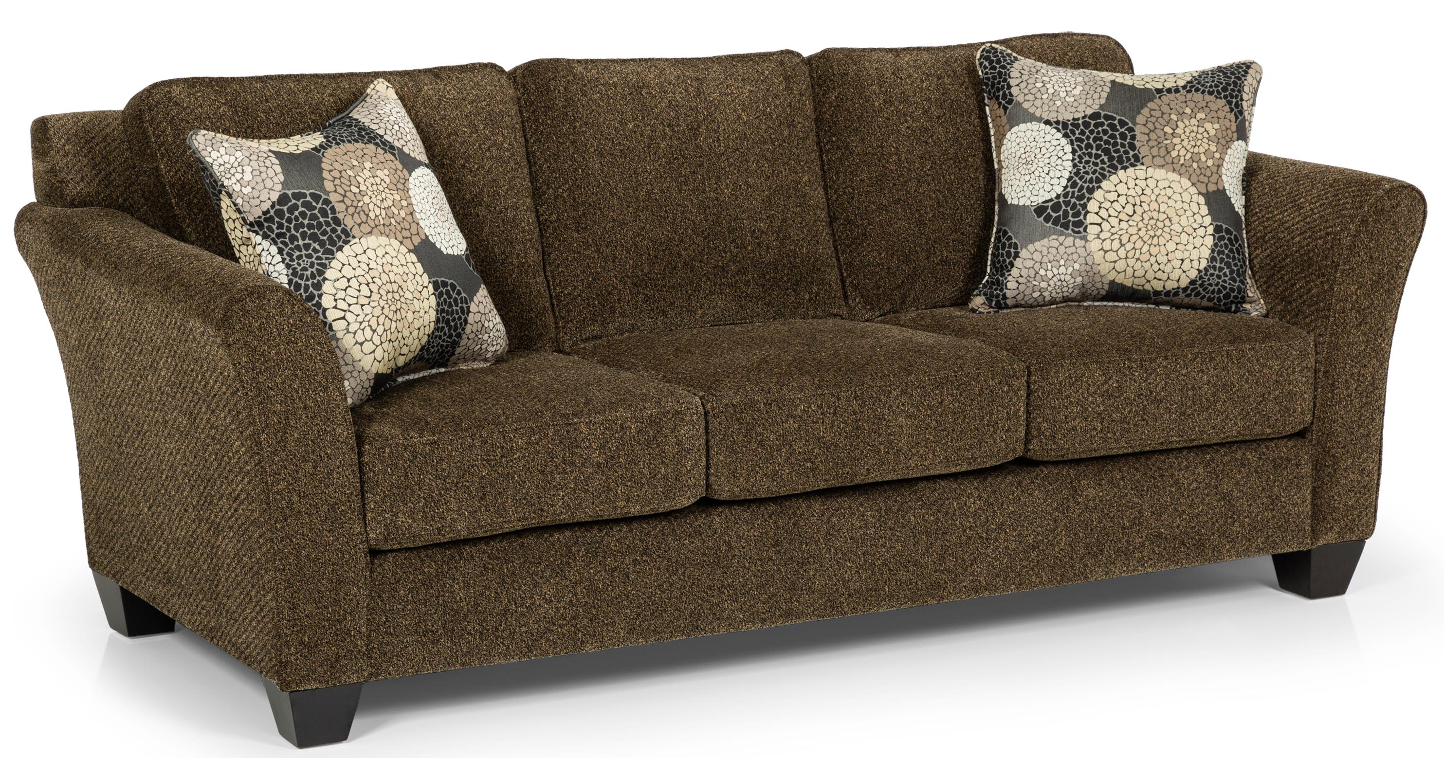 Stanton 184 Contemporary Gel Sleeper Sofa With Flared Arms