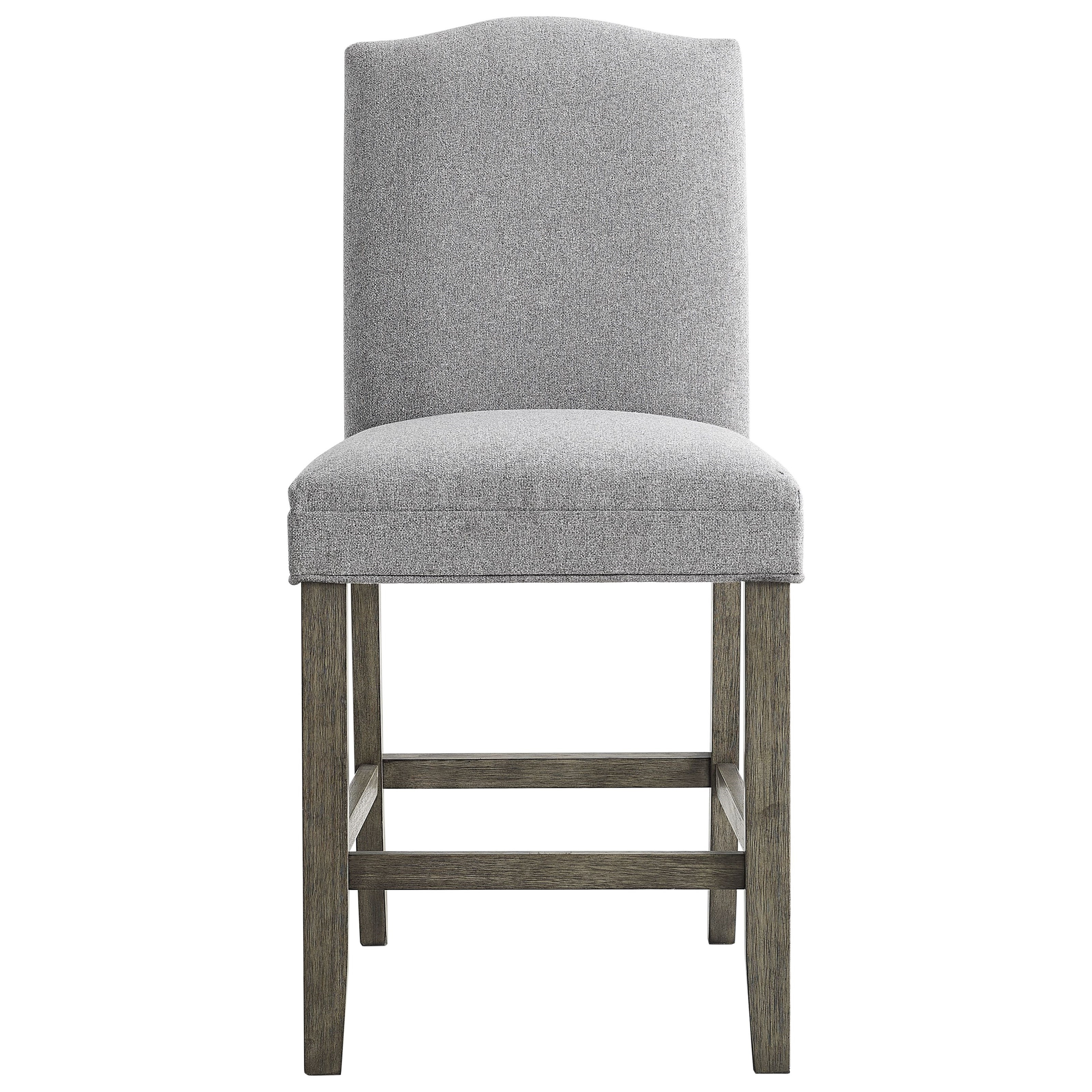 Steve Silver Grayson Gs640ccg Transitional Upholstered Counter Height Chair With Dunk Bright Furniture Bar Stools