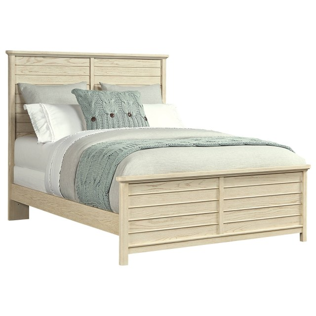 Stone & Leigh Furniture Driftwood Park Queen Panel Bed Belfort
