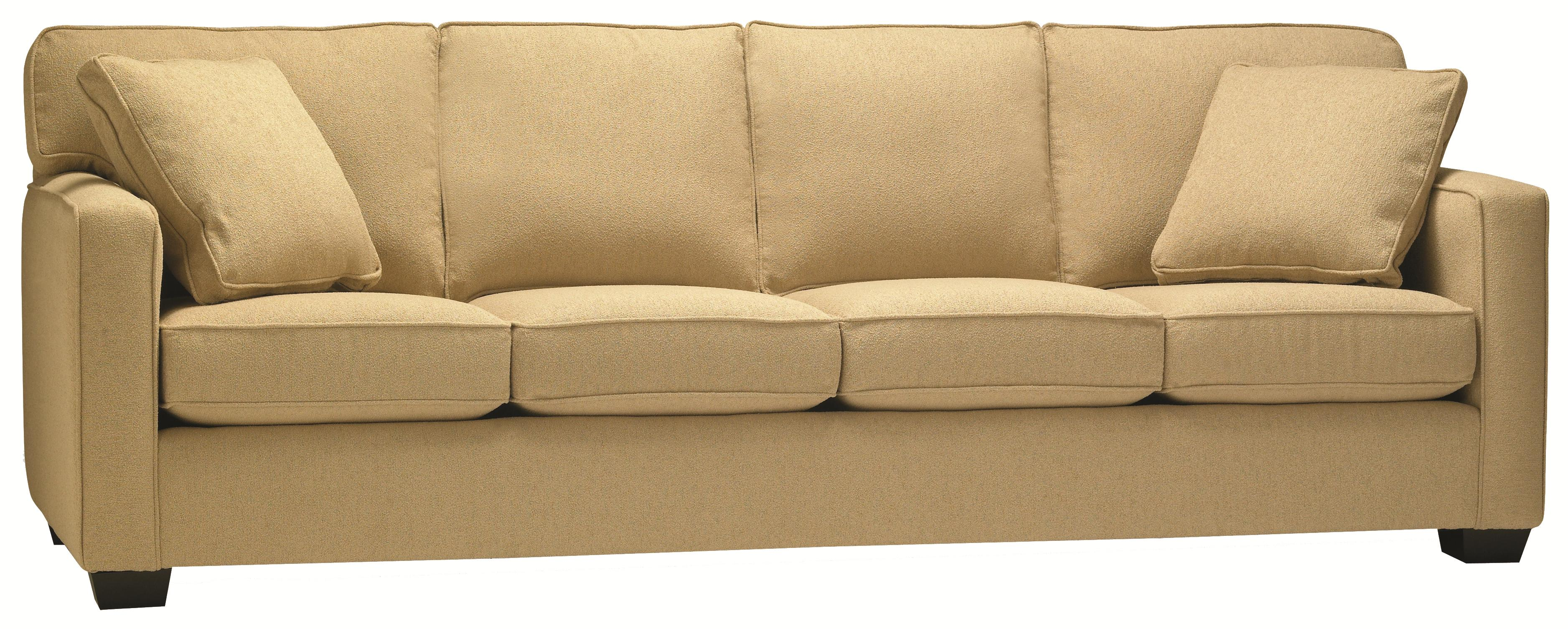 lewis home 5901 four seat sofa in