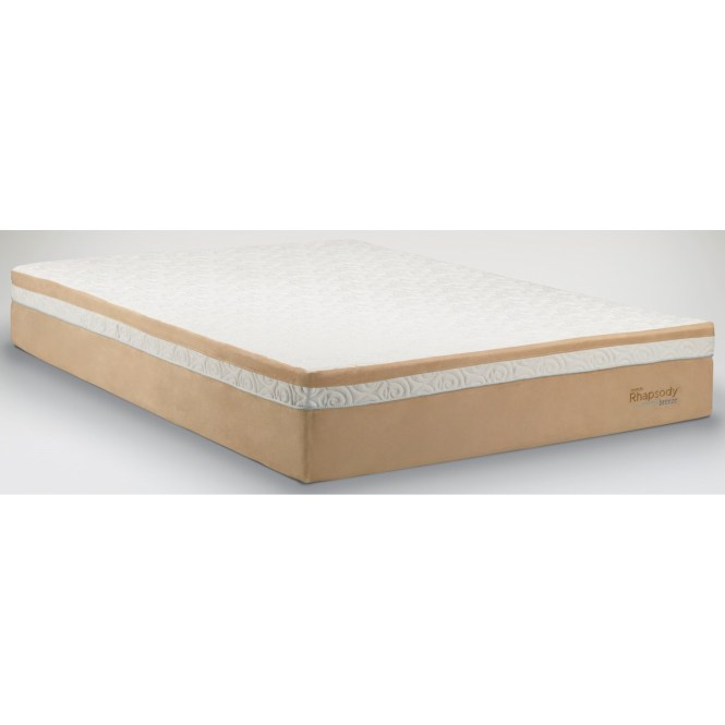 Tempur Pedic Contour Rhapsody Breeze Queen Medium Firm Mattress Item