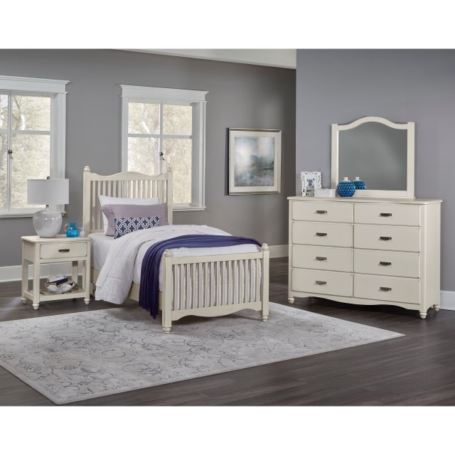Vaughan Bassett American Maple Twin Bedroom Group Lindy s