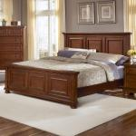 Vaughan Bassett Reflections King Mansion Bed Belfort Furniture Panel Beds
