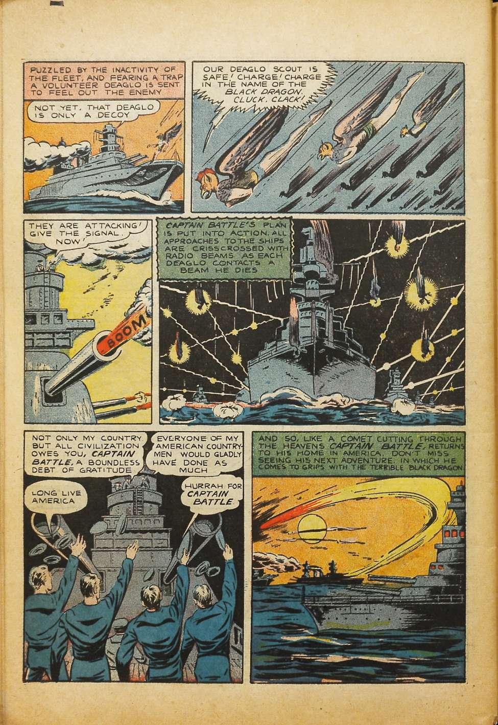 Comic Book Cover For Silver Streak Comics #10