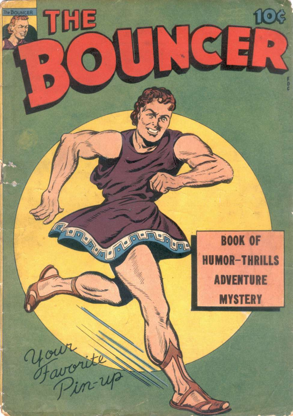 Comic Book Cover For The Bouncer [10]