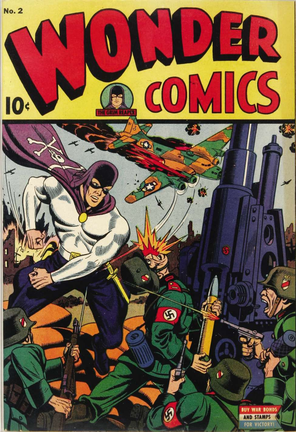 Comic Book Cover For Wonder Comics #2