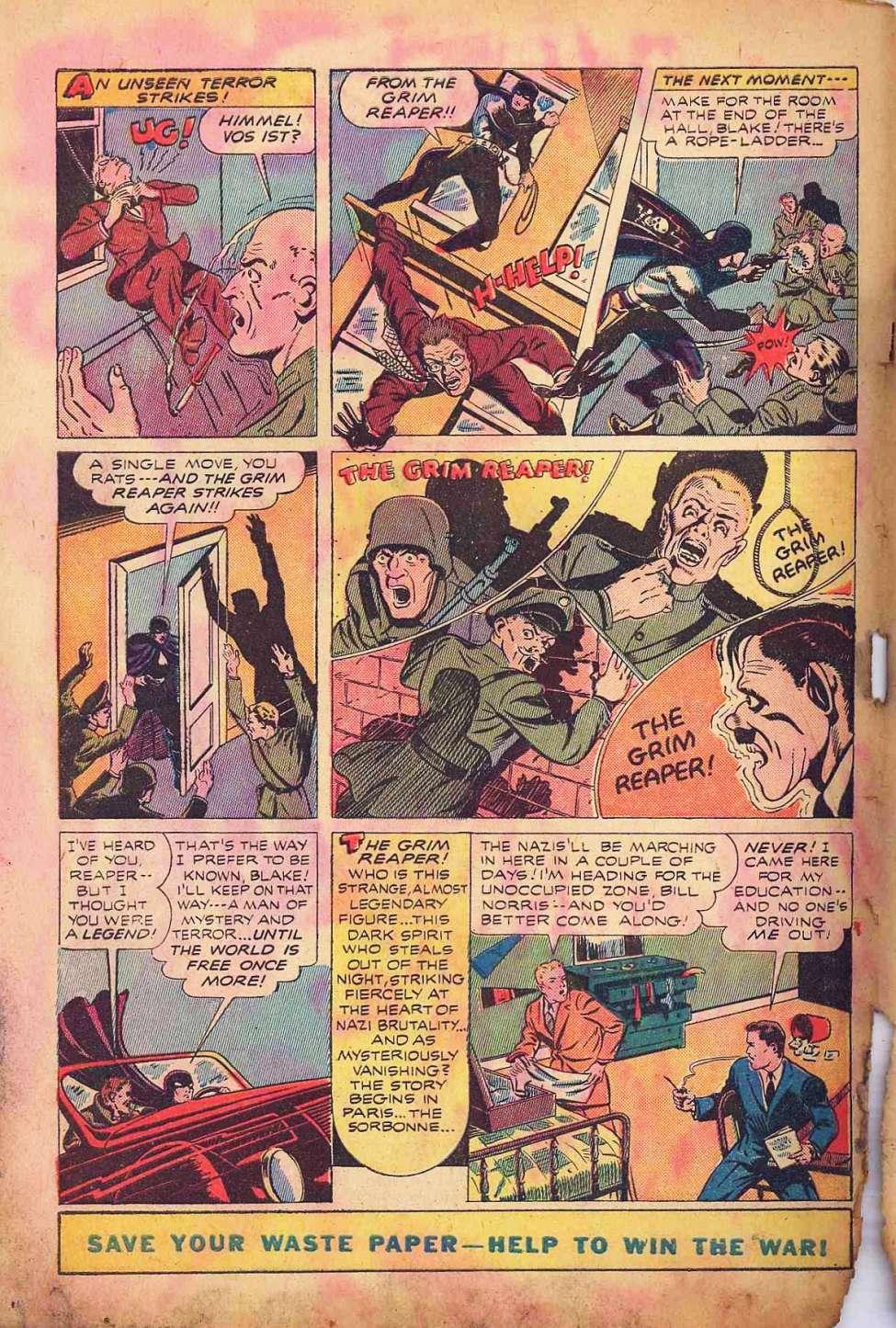 Comic Book Cover For Wonder Comics #2