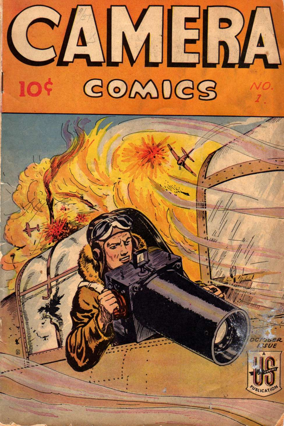 Comic Book Cover For Camera Comics v1 1 (1)