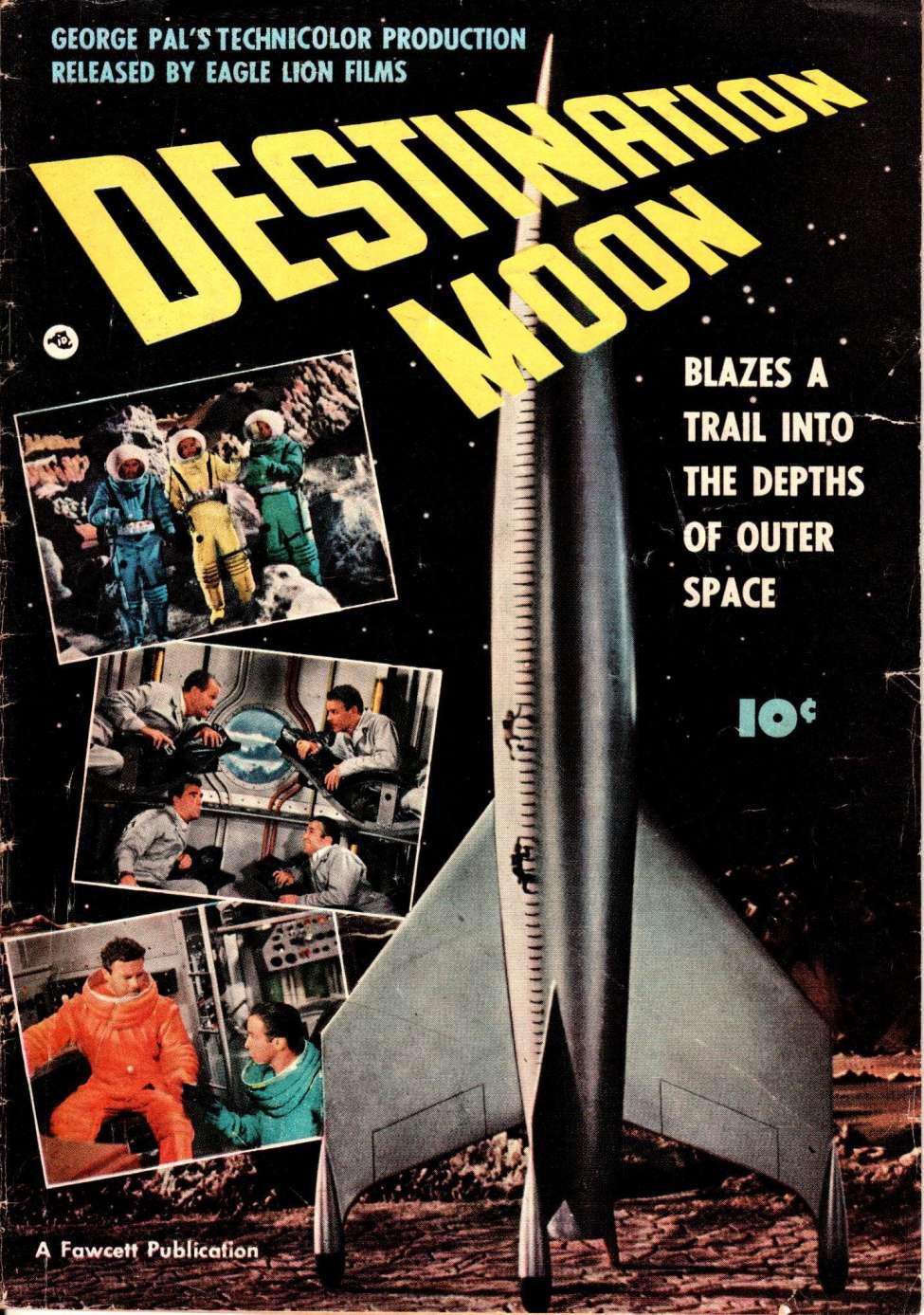 Image result for fawcett movie comic destination moon